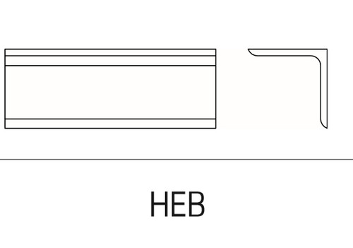 Schlage Electromagnetic Locks Accessories Header Extension Bracket (628, 335 finish only) For 70 Series - HEB