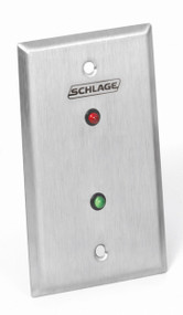 Schlage Remote &?Local Monitoring Stations 800 Series Local monitoring - Two LED indicators - red, green or amber - 800L2