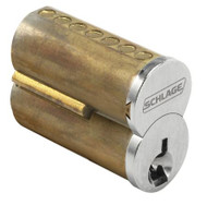Schlage Small Format Interchangeable Core cylinder 6-Pin uncombinated, - 80-043