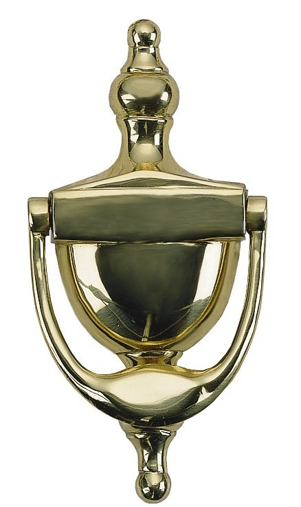BRASS Accents Colonial Door Knocker 6""