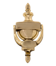 BRASS Accents Camden Door Knocker 7-9/16""