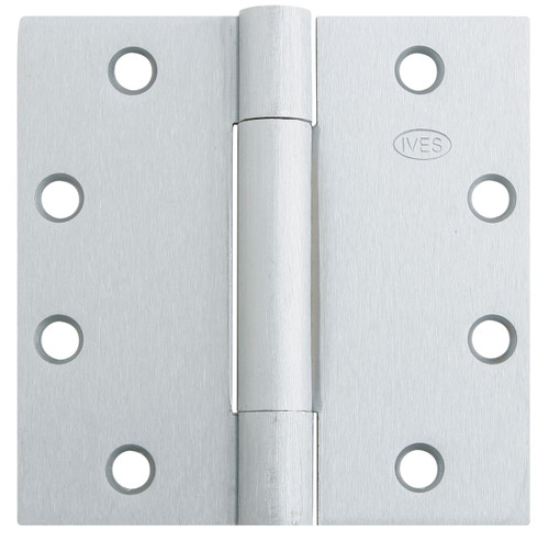 Ives Architectural Hinges 3 Knuckle, Plain Bearing Standard Weight Full Mortise Hinge - 3PB1