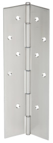 "Ives Continuous Hinges Full Mortise Pin and Barrel Continuous Concealed UL Listed Hinge 1012 Cold-Rolled Steel 1/8"" Inset Non Handed - 600"