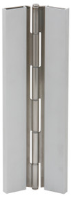 Ives Continuous Hinges Full Surface Flush Mount Pin and Barrel Continuous UL Listed Hinge 14 Gauge Type 304 Stainless Steel Non Handed - 702