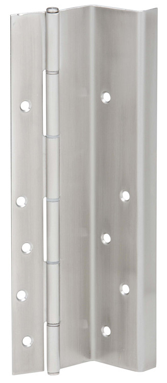Ives Continuous Hinges Swing Clear Flush Mounted Pin and Barrel Continuous Surface UL Listed Hinge 14 Gauge Type 304 Stainless Steel No Inset Non Handed Built in Edge Guard - 711