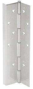 Ives Continuous Hinges Full Mortise Flush Mounted Half Wrap Pin and Barrel Continuous Concealed UL Listed Hinge No Inset Non Handed Built in Edge Guard - 715