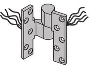 "Ives 7200 Series Pivots 3/4"" Offset Power Transfer Pivot - 7215PT (TW4) INT"