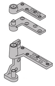 """Ives 7200 Series Pivots Fire Rated 3/4"""" Offset Top & Bottom Pivot Set 500 Pound Rating - 7215F SET"""
