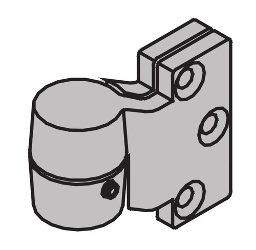 "Ives 7200 Series Pivots 3/4"" Offset Intermediate Pivot 100 Pound Rating - 7222 INT"