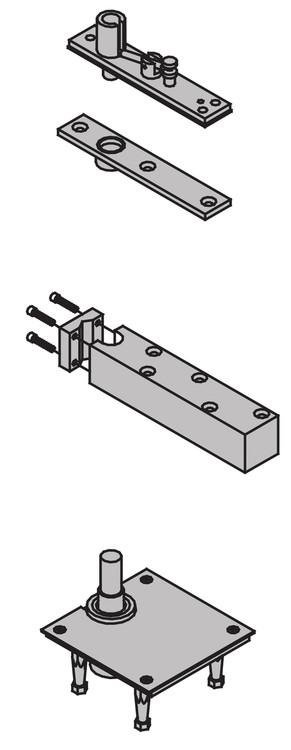 Ives 7200 Series Pivots 1 1 2 Quot Offset Top Pivot Center
