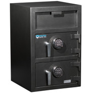 Protex Large Dual-Door Front Loading Depository Safe FDD-3020