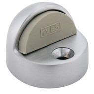 """Ives Floor Stops Dome Stop 1-3/8"""" Height with Thresholds Use - FS438"""