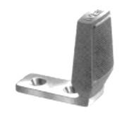 """Ives Floor Stops Burnished Wrought Steel Floor Stop 2-5/8"""" Height - FS434"""