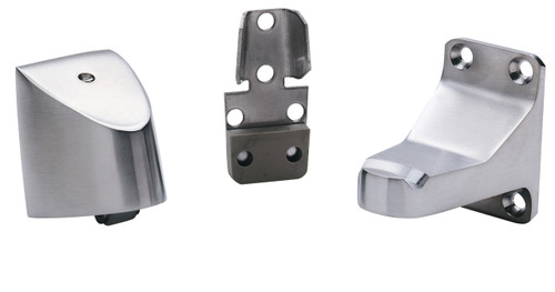 """Ives Floor Stops Wall Stop & Automatic Holder Holds door 3-3/4"""" from wall - FS495"""