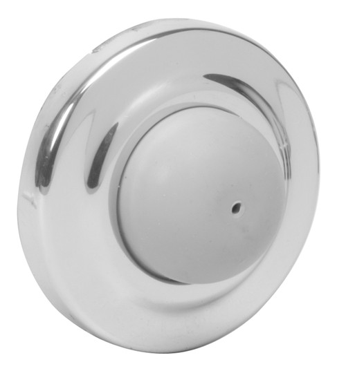 Ives Wall Bumpers Wall Bumpers Convex Rubber Bumper, Packed with Wood Screw and Plastic Anchor - WS406CVX