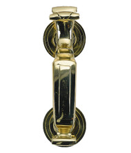 BRASS Accents Doctor's Door Knocker 8""