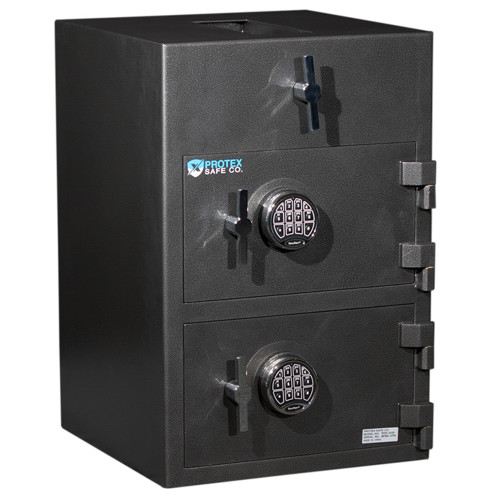 Protex Large Top Loading Dual-Door Depository Safe RDD-3020