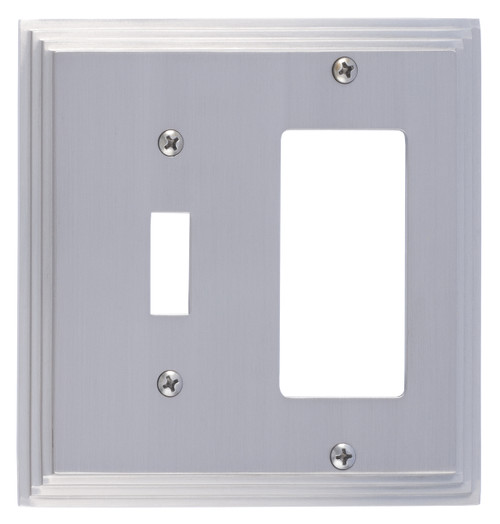 BRASS Accents Classic Steps Switchplates