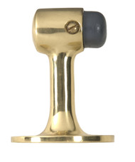 BRASS Accents Raised Floor Door Stop - 2-1/2""