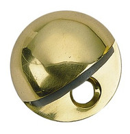 BRASS Accents Oval Door Stop
