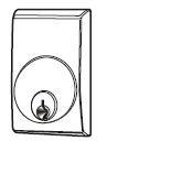 Escutcheon Mortise Cylinder