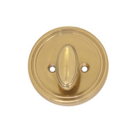 BRASS Accents Deadbolt Thumbturn Rose Assembly (D09-C0303)