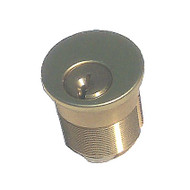 BRASS Accents Mortise Cylinder w/key (D09-C029)