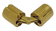 12mm Barrel Hinge - Solid Brass