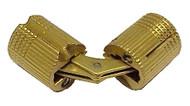 12mm Barrel Hinge - Solid Brass