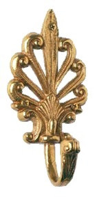 BRASS Accents European Robe Hook (B04-C5280)