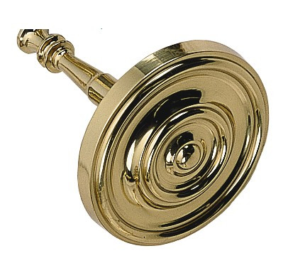 BRASS Accents Traditional Curtain Tieback - Pair (M07-C7000)