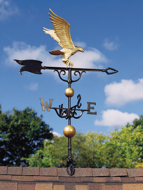 """Whitehall Traditional Directions Aluminum Weathervanes - 46"""" (0 428)"""