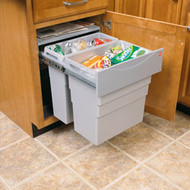 Pull Out Waste Bin Double