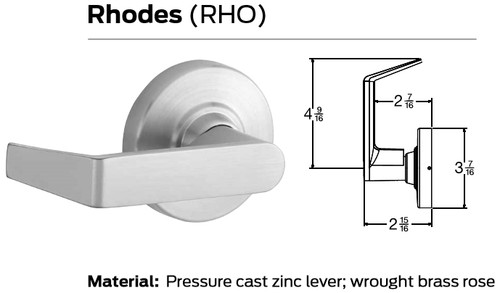 Schlage ND Series Grade 1 Cylindrical Locks - Rhodes