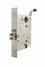 Schlage L Series L9000 Grade 1 Mortise Electrified Locks - Standard Collection Lever Merano