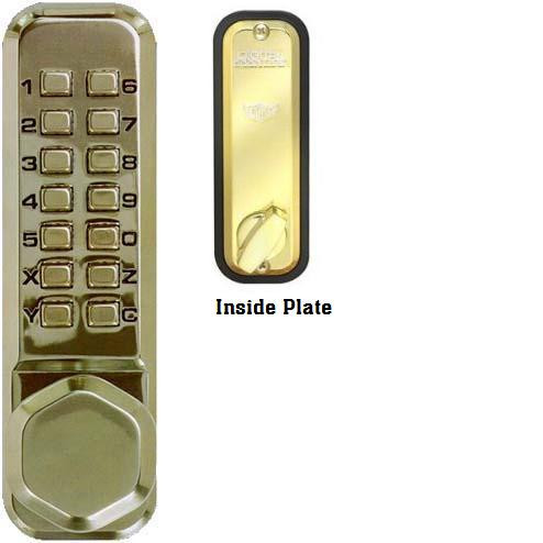 Combination Push Button Lock