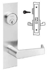 Yale Mortise Classroom Lever Lock
