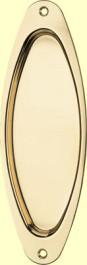Pocket Door Oval Trim