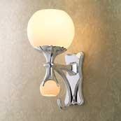 CIRCA Light W/ Satin Opal Glass W/ Nightlight