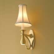CIRCE Light W/ Fabric Shade W/ Nightlight