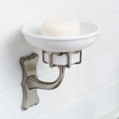 CIRCA Porcelain Soap Dish