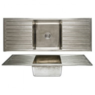 Basin Sink  Double Drainboard