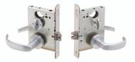 Schlage L Series L9000 Grade 1 Mortise Vandlgard Locks - Standard Collection Lever Merano