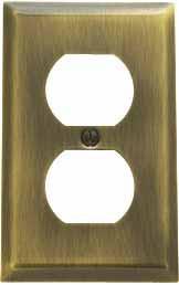 Single Duplex Switchplate - 4752