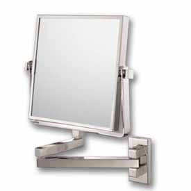 Square Pivot Arm Wall Mirror