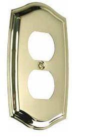 Single Duplex Switchplate - 4757