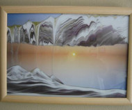 KB Collection  Wall Mount Movie Series Rainbow Vision Sand Picture Sunset - Medium size