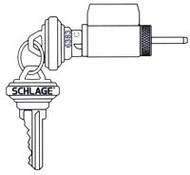 Schlage 'D' series Knob Lock Cylinder