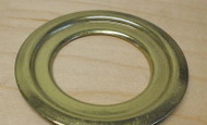 "Schlage 2-1/2"" Diameter Steel Deadbolt brass Adapter Ring - 38-031"