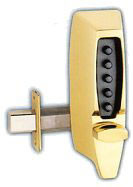 Simplex Pushbutton Dead latch Lock - 7104
